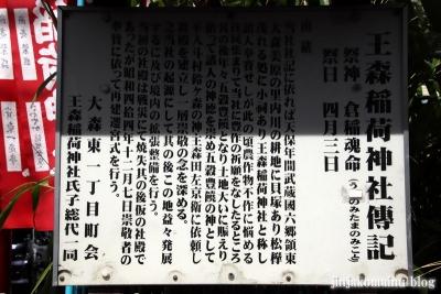 王森稲荷神社(大田区大森東)4