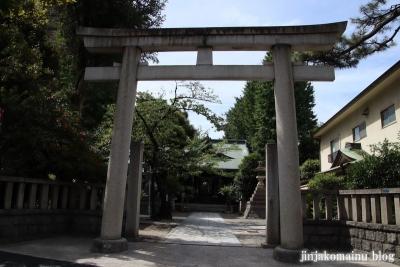 大森浅間神社(大田区大森西)1