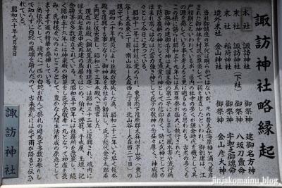大森諏訪神社(大田区大森西)5