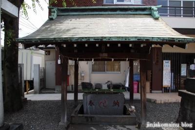 谷戸三輪神社(大田区大森西)3