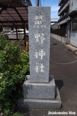 熊野神社(大田区仲六郷)2