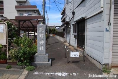 熊野神社(大田区仲六郷)1