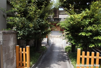 熊野神社(大田区仲六郷)3