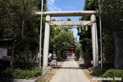 徳持神社(大田区池上)1