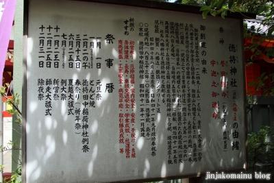 徳持神社(大田区池上)7