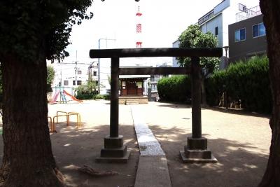 天祖神社(大田区下丸子)1