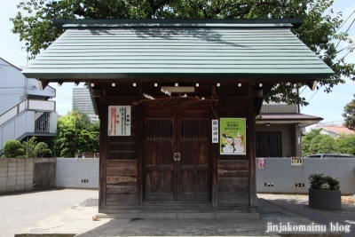 下丸子諏訪神社(大田区下丸子)2