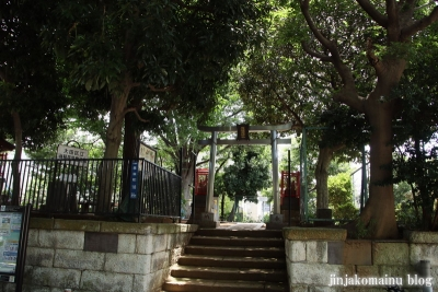 嶺稲荷神社(大田区西嶺町)1