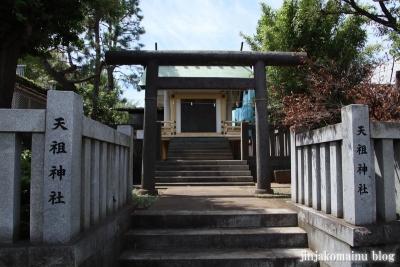 嶺天祖神社(大田区西嶺町)1