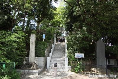 多摩川浅間神社(大田区田園調布)1