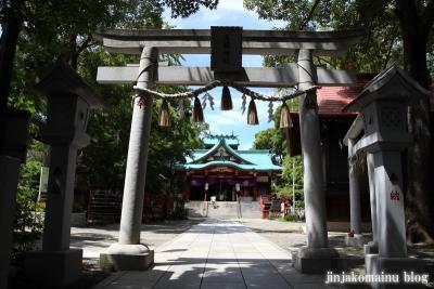 多摩川浅間神社(大田区田園調布)11