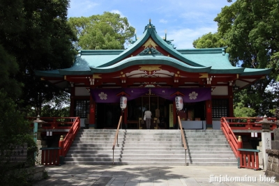 多摩川浅間神社(大田区田園調布)13