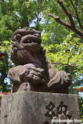 多摩川浅間神社(大田区田園調布)18