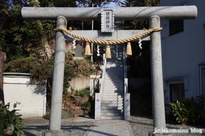 日枝神社(八王子市大和田町)2