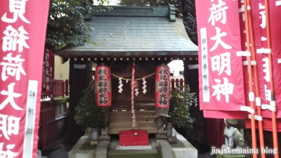 旗の台伏見稲荷神社(品川区旗の台)8