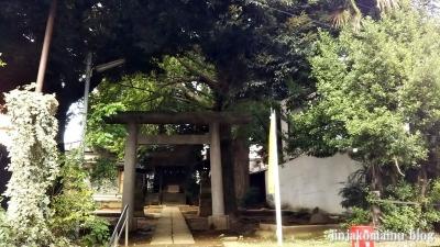 馬込天祖神社(大田区北馬込)1