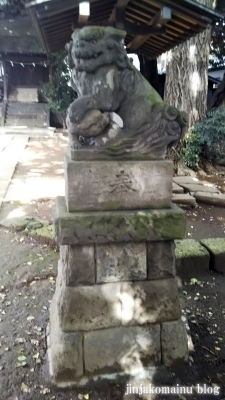 馬込天祖神社(大田区北馬込)6