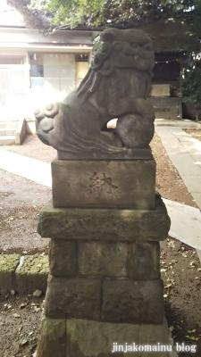 馬込天祖神社(大田区北馬込)10