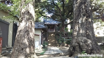 湯殿神社(大田区南馬込)3