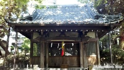湯殿神社(大田区南馬込)5