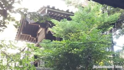 湯殿神社(大田区南馬込)12