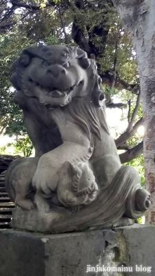 湯殿神社(大田区南馬込)14