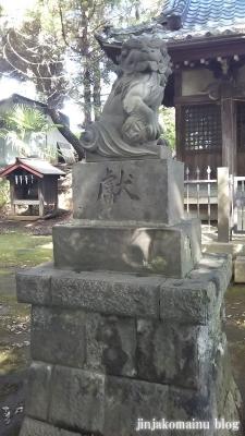 湯殿神社(大田区南馬込)17