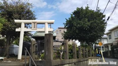 馬込諏訪神社(大田区東馬込)1