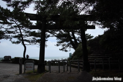 海津見神社竜王宮(高知市浦戸城山)1