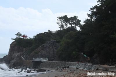 海津見神社竜王宮(高知市浦戸城山)3
