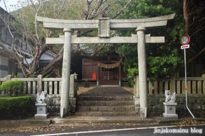 白山神社(土佐清水市足摺岬)1