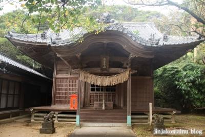 白山神社(土佐清水市足摺岬)6