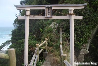 白山神社(土佐清水市足摺岬)21