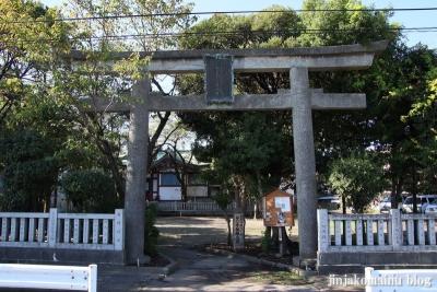 東墨田白髭神社(墨田区東墨田)1