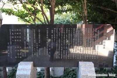 東墨田白髭神社(墨田区東墨田)18
