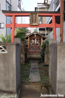 荒木稲荷(江戸川区平井)2