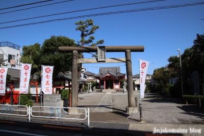 平井白髭神社(江戸川区平井)1