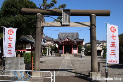 平井白髭神社(江戸川区平井)2