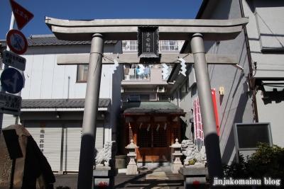子安稲荷神社(江東区大島)1