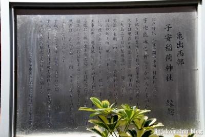 子安稲荷神社(江東区大島)3