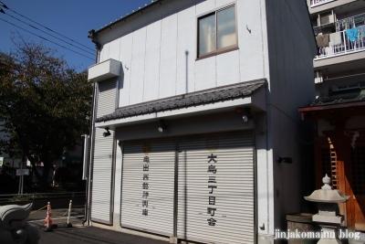 子安稲荷神社(江東区大島)10