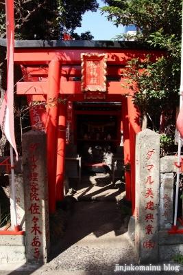 招福稲荷神社(墨田区江東橋)2