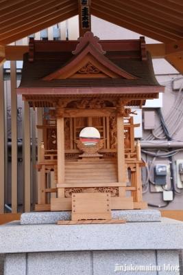 鎮守稲荷神社(墨田区江東橋)7