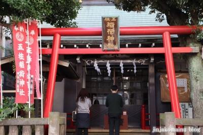 五柱稲荷神社(墨田区緑)2