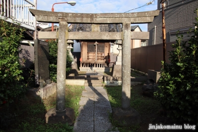 保木間水神宮(足立区西保木間)1