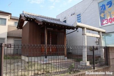 古千谷浅間神社(足立区古千谷本町)1