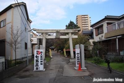 舎人氷川神社(足立区舎人)1