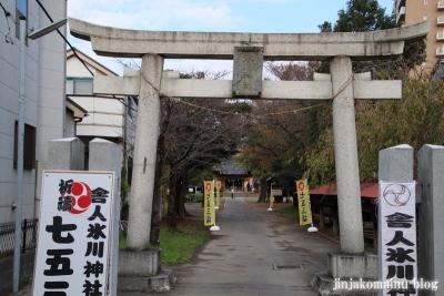 舎人氷川神社(足立区舎人)2
