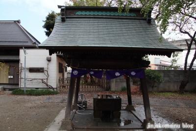 舎人氷川神社(足立区舎人)5