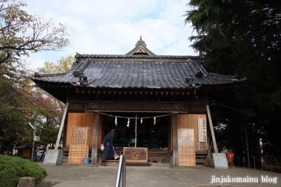 舎人氷川神社(足立区舎人)6